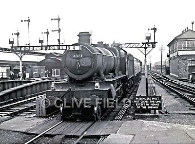 £2.25 • Buy Railway 6x4 Photo 4961  Oxford  1960. (printed From  The Original Negative)