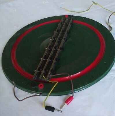 £59 • Buy Hornby Series O Gauge Steel Track Electric Turntable Part Built Needs Completion