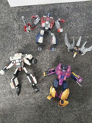 £10 • Buy Transformers Lego KREO Bundle Of  Figures Including Optimus Prime And Prowl