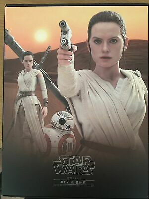 $ CDN257.84 • Buy Hot Toys Star Wars The Force Awakens Rey And BB-8 - MMS337