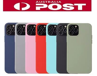 AU4.99 • Buy For Apple IPhone 12 11 Max XR XS 8 7 6 SE Silicone Case Soft Slim Gel Thin Cover