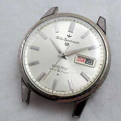 $ CDN73.06 • Buy Seiko 5 Sportsmatic AUTOMATIC 21J Day/Date Cal.410 Need Service