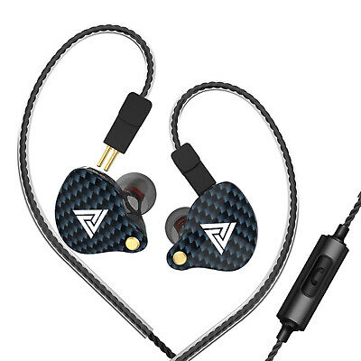 $ CDN23.87 • Buy QKZ VK4 3.5mm Wired Headphones In-ear Sports Headset Moving Coil Music D9T0