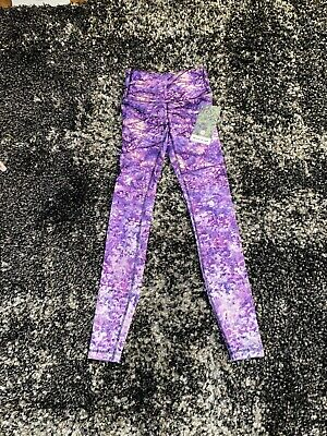 """$ CDN41.41 • Buy NWT Lululemon Seawheeze Speed Wunder Tight 28"""" In Fractal Forest! Size 2!"""