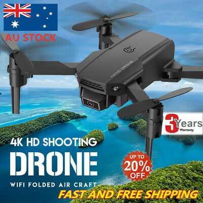 AU42.92 • Buy Foldable RC Drone Quadcopter With HD Camera WIFI FPV Quadcopter Altitude  Toys