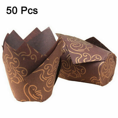 £2.99 • Buy Tulip Wraps Cupcake Muffin Baking Cases Coffee Colours Wrapper Daily Use