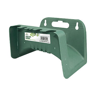 £4.75 • Buy Garden Hose Wall Hanger Pipe Storage Cable Reel Holder Fence Pole Mount
