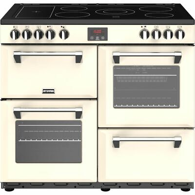 £1049 • Buy Stoves Belmont 100E 100cm 5 Burners A/A/A Electric Range Cooker Cream