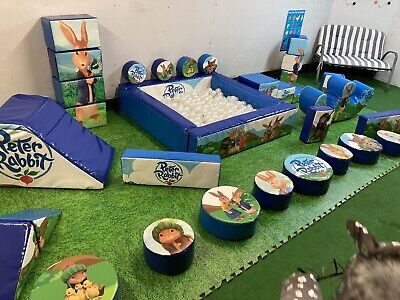 £330 • Buy Commercial Soft Play Set 32 Pieces And Ball Pit  Sensory Play