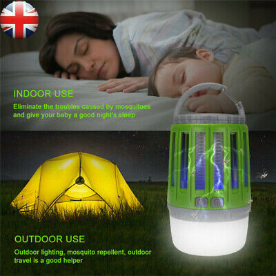 £11.89 • Buy Electric Insect Killer Trap UV Light Tent Lamp Mosquito Fly Bug Zapper Catcher