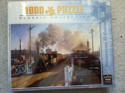 £11.99 • Buy Steam Train At Halstead - King Jigsaw Puzzle - 1000 Pieces