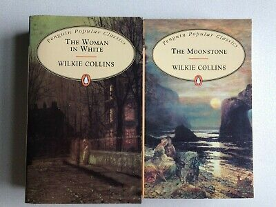 £8.99 • Buy Wilkie Collins Book Bundle, The Moonstone And The Woman In White- Pb -