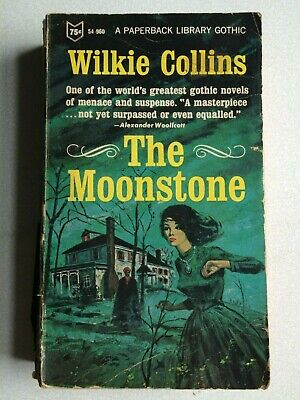 £9.99 • Buy Wilkie Collins Moonstone 1966, A Paperback Library Gothic.