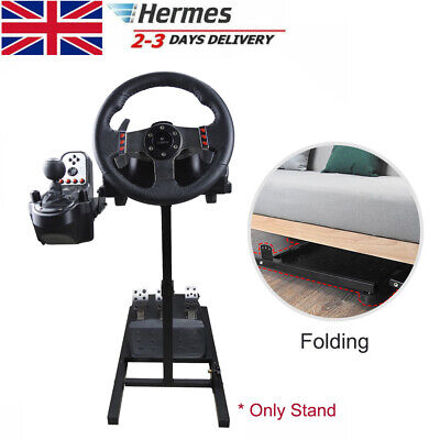 £53.86 • Buy Racing Game Simulator Steering Wheel Stand For LogitechThrustmaster PS4 Xbox