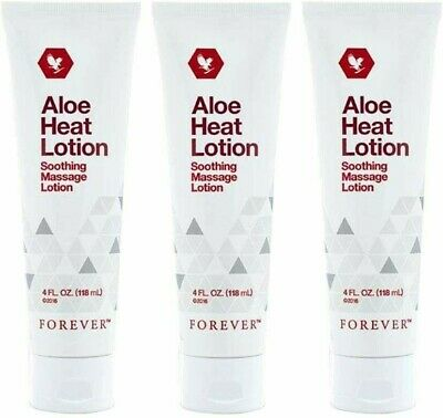£19 • Buy ✨3 ✖ Forever Living Aloe Heat Lotion Soothing Massage Expire Date -07-2021
