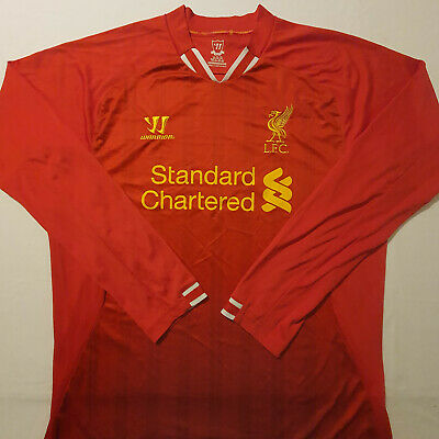 £29.99 • Buy Liverpool 2013 Home Football Shirt (Large/XL 43.5  Chest) Long Sleeve AUTHENTIC