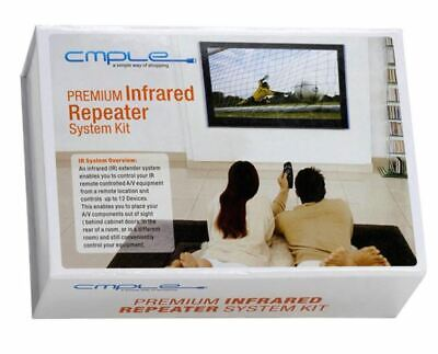 £21.29 • Buy NEW CMPLE Premium Infrared IR Repeater System Kit Receiver Emitter Hidden Ample