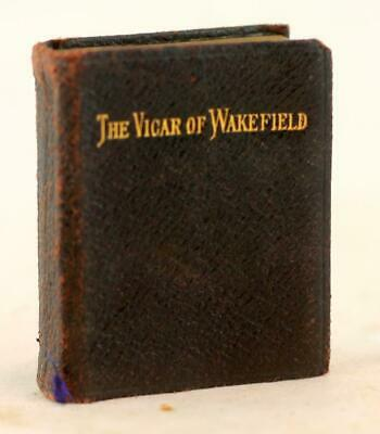 £0.70 • Buy Oliver Goldsmith C1900 Leather Miniature Binding  The Vicar Of Wakefield