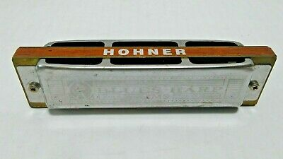 $21.99 • Buy Vintage M. Hohner BLUES HARP MS Key F Harmonica Made In Germany