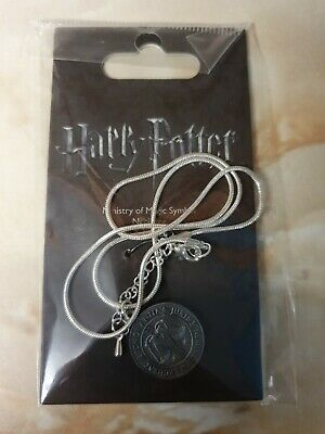 $ CDN7.72 • Buy Harry Potter Ministry Of Magic Symbol Necklace