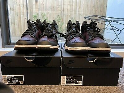 AU295 • Buy Nike X Fragment Dunk High, 2 Size 9.5, Both Deadstock