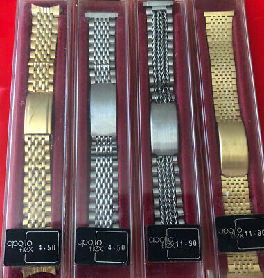 $ CDN89.38 • Buy Job Lot Of Assorted Stainless Steel Watch Straps,