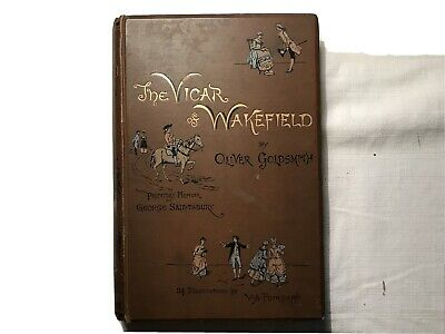 £45 • Buy THE VICAR OF WAKEFIELD By Oliver Goldsmith (Hardback, 1886) Colour Illustrations