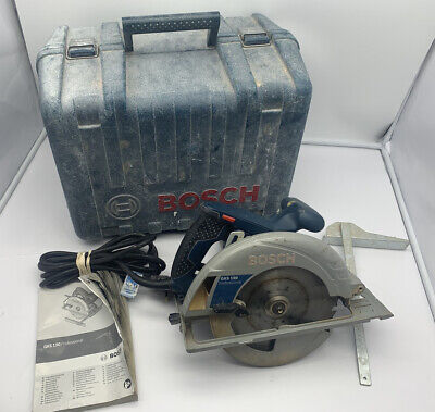£59.95 • Buy Bosch GKS 190 Circular Saw 220-230V 6.5A 1400W 190mm Corded + Guide/Case