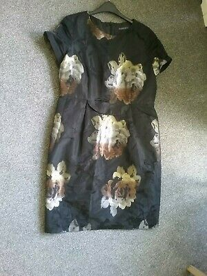 £8 • Buy Alex & Co Wedding Coctail Party Occasion Lined Dress Size 18