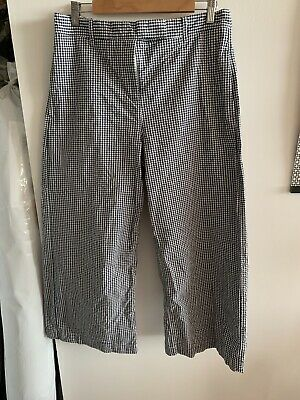 £3 • Buy M&S Marks And Spencer Size 12 Crop Wide Leg Trousers