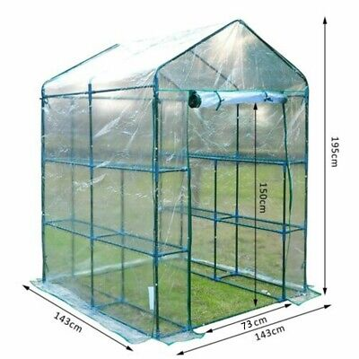 £34.46 • Buy Plants Grow Greenhouse Cover Transparent Accessories Garden House Cover