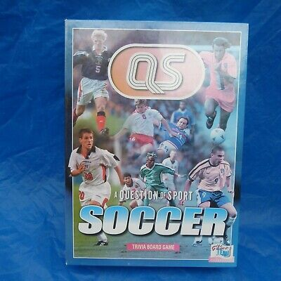 £5 • Buy Vintage A Question Of Sport - 'SOCCER' - Trivia Board Game - 1997 - New & Sealed