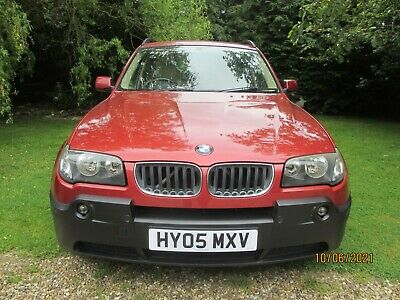 £1020 • Buy BMW X3 2.0d Unusual Color Red Bluetooth