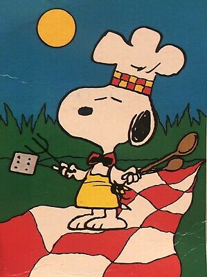 $ CDN56.48 • Buy Snoopy Peanuts Chef Barb B Q Grill Picnic Cook Out Summer Large Yard Flag New