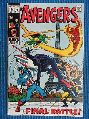 £34.77 • Buy Avengers # 71 - (vf/nm) -1st Invaders,iron Man,vision,black Knight Joins,kang