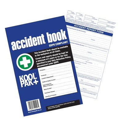 £4.64 • Buy Koolpak GDPR Compliant Business/Workplace Accident Report Book - A4