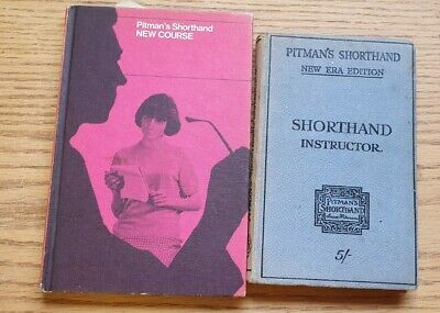 £15 • Buy Pitman's Shorthand New Course & Instructor Books - New Era Edition