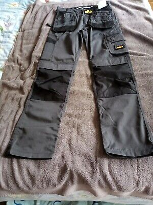 £15 • Buy Mens Grey Work Trousers - 32w, 34l - From Site