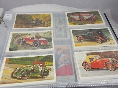 £1.99 • Buy Series Of 28 John Player GRANDEE FAMOUS M G MARQUES Cigarette Cards Collectible