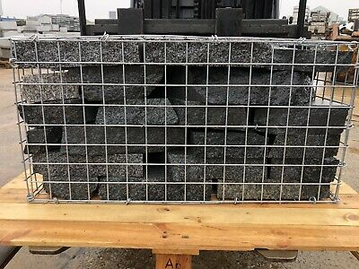 £100 • Buy 1 Ton Of Solid Granite, Gabion Fill, Walling, Water Feature Pond, Crazy Paving