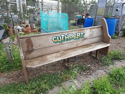£30 • Buy Church Pew Bench Architectural Salvage Pitch Pine