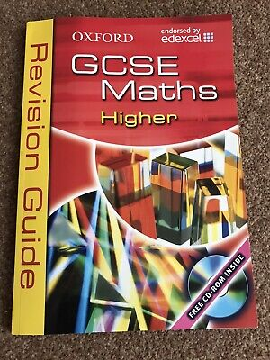 £4 • Buy Oxford GCSE Maths Higher Revision Guide Edexcel With CD-ROM #2