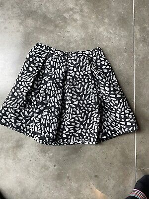 £20 • Buy Reiss Black And Grey A Line Skirt Size 12