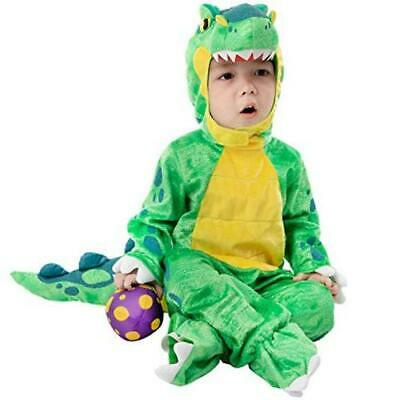 $9.99 • Buy Baby Green T-Rex Costume For Halloween Trick Or Treating, Green, Size 12.0 0MM7