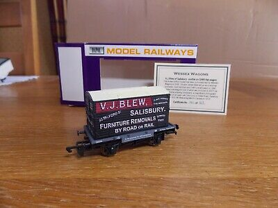 £51 • Buy DAPOL GWR CONFLAT WAGON No 39050 C/w Container V. J. BLEW SALISBURY Limited Edn