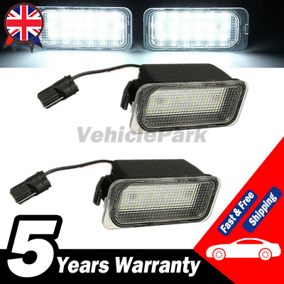 £7.99 • Buy 2 Licence Number Plate Light LED For Ford Fiesta Focus Mondeo C-Max Jaguar XJ XF