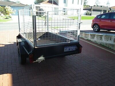 AU405 • Buy Box Trailers For Sale Used