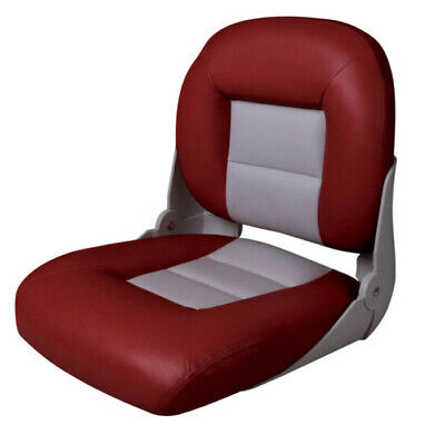 £63 • Buy DELUXE CRUISE LOW STYLE FOLDING BOAT SEAT - MARINE Yacht Speedboat Rib Chair