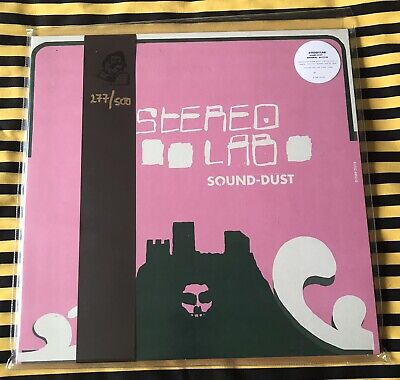 £19.99 • Buy STEREOLAB SOUND-DUST 3x LP ALBUM RECORD VINYL 2019 OBI 277/500 LIMITED CLEAR !