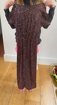 £8 • Buy Next Catsuit Kids Age 7-8 Great For Parties Or Dance-wear.